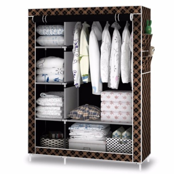 J&J Trading Storage Wardrobe and Clothes Organizer