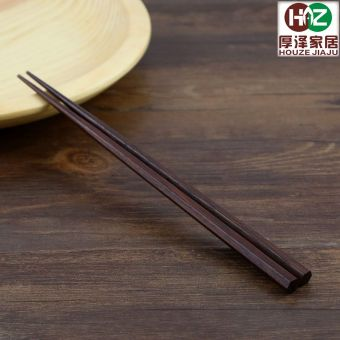 Japanese style Iron wood Japanese hex pointed chopsticks