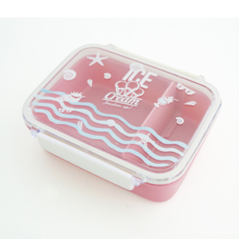 Japanese-style single layer student container lunch box
