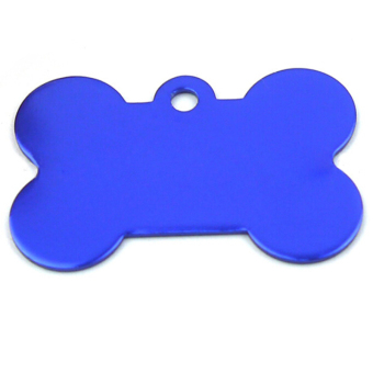 Jetting Buy Pet Name Tags Bone Shape Engraved Blue