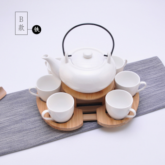 Jianyue home ceramic flower tea cup