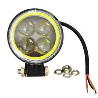Jiawen 2pcs/lot 3.5Inch 5.5w White light Round Led motorcycle Headlights Jeep Headlamps (DC 9-48V) - intl - 5