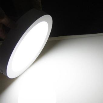 Jiawen LED Panel Light 6W cool white Surface Mounted LED Ceiling Lights AC90-265V Round LED Downlight - intl - 5