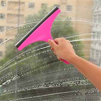 Jiayiqi Cleaning Brush Glass Wiper Window Clean Shave Car Window Mirror Cleaner Eco-friendly - intl