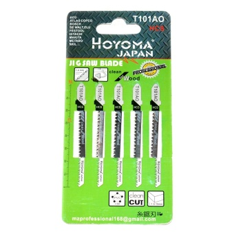 "Jig Saw Blade 5Pcs Wood with FREE Hoyoma Japan C Clamp 2"" Price Philippines"
