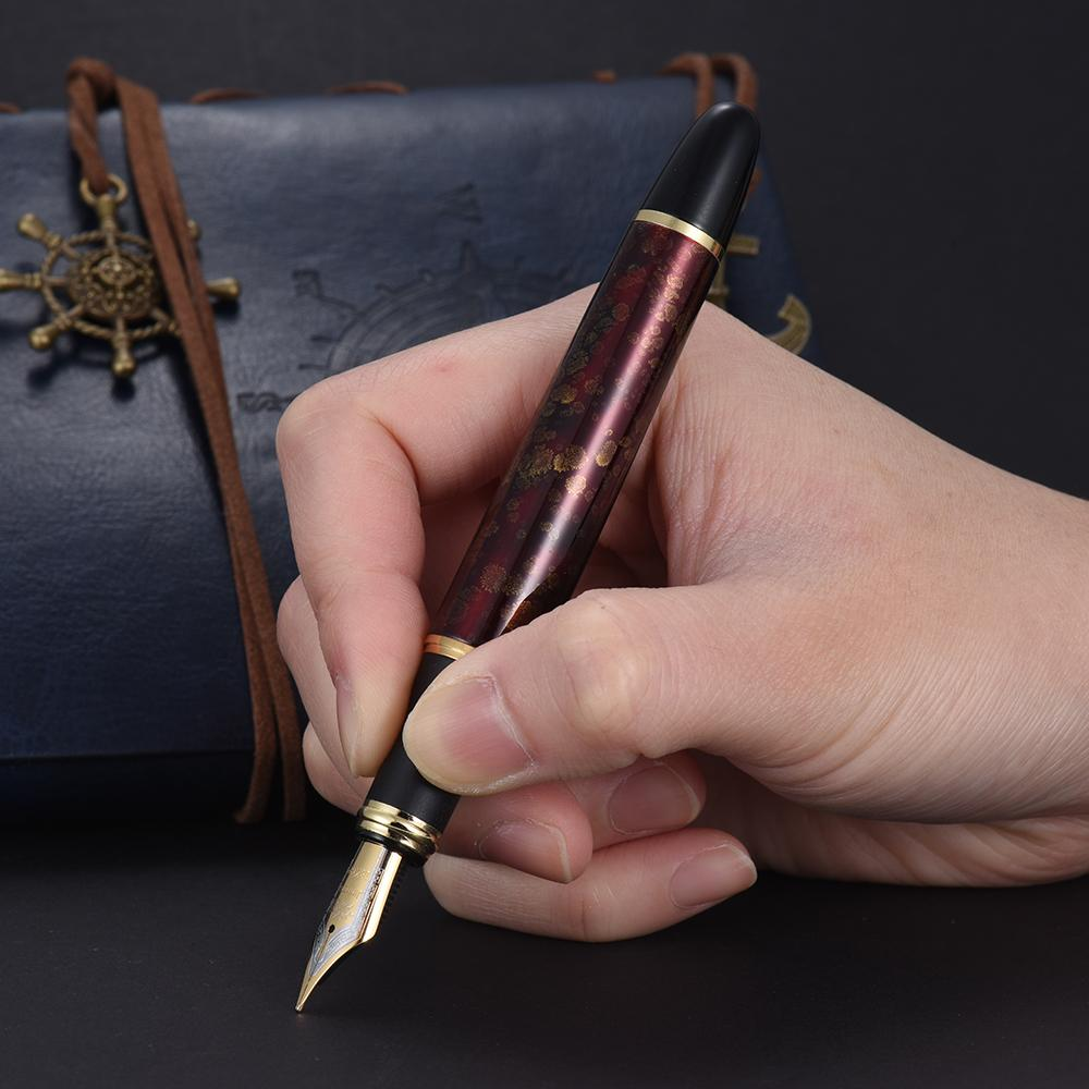 ... Jinhao X450 Fountain Pen 0.5mm Nib Writing Removable Ink RefillConverter Signature Calligraphy Classic Antique Vintage ...