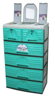 Jolly 5 Layer Drawer (Green)