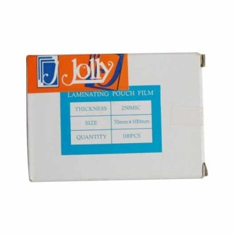 Jolly Laminating Film 70mm x 100mm x 250 micron Set of 1 Price Philippines