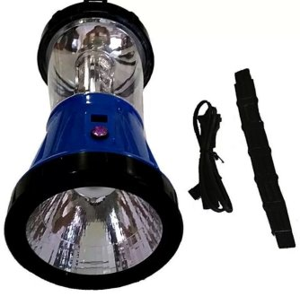 JR-799 Rechargeable LED Solar Lantern (Blue) - picture 2