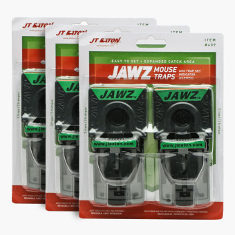 JT Eaton 2-piece Jawz Mouse Traps (Set of 3) Price Philippines