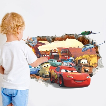 Kids Room Pixar Cars Lightning McQueen Mater Nursery Wall StickerDecor - intl Price Philippines