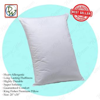 King Fisher Premium Pillow by Canadian (White) Price Philippines