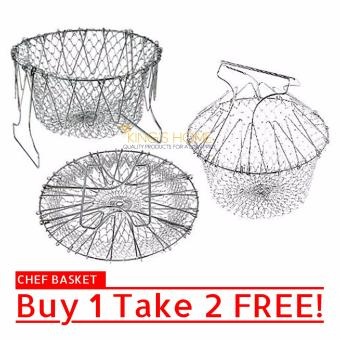 King's Home 12 in 1 Chef Basket Colander Strainer Buy 1 Take 2 FREE