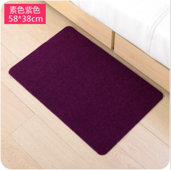 Kitchen bathroom doorway slip pad mat