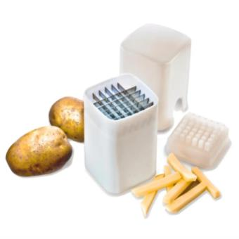 Kitchen Fries One Step French Fry Cutter Potato Vegetable FruitSlicer Tool