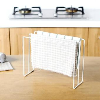Kitchen Japanese-style wrought iron rag rack