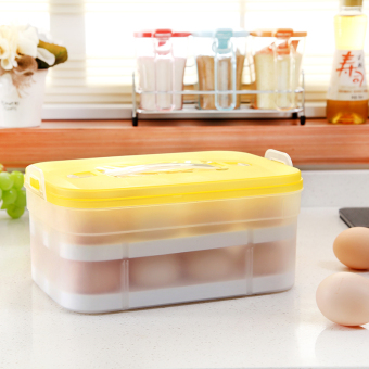 Kitchen organizing box refrigerator crisper egg box