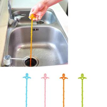 Kitchen Sink Garbage Drain Hair Remover Loose Device Cleaning Tool- intl