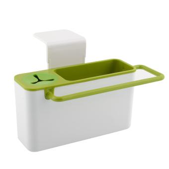 Kitchen Tools Storage Box (White/Green)