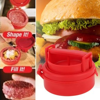 Kitchen Tools Stuffed Burger Press Hamburger Grill BBQ Patty MakerPlastic Cooking Accessories DIY Meat Poultry Tools - intl Price Philippines