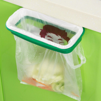 Kitchen Trash Bag Holder On Wall for Kitchen Cabinet Garbage BagsHanging Rack