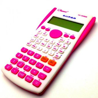 kk-350ms Scientific Calculator (Pink) with FREE LD LACE