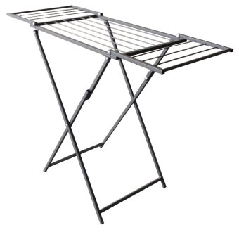 Krissen KSS904 Clothes Airer with Expanded Wings