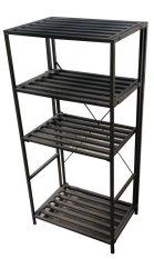 Krissen KSU801 4 Layer All Metal Compact Shelving Unit