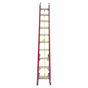 Kruger Fiberglass Extension Ladder, F32810 (10-17 Rungs) - 3