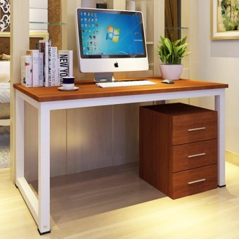 KRUZO Minimalist Home/Office Desk Table (80cm x 50cm x 74cm) 2ft8in x 20in x 2ft 5in