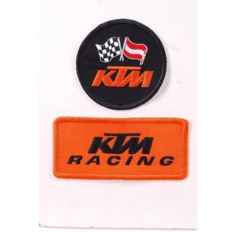 KTM Embroidered Cloth Patch Set -Badge (Get 2)