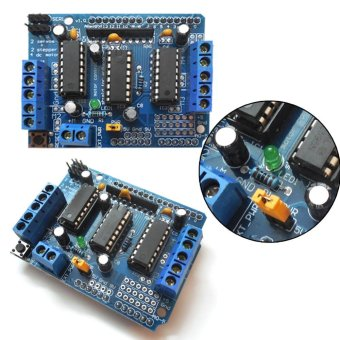 L293D Motor control Drive Shield Expansion Board for Arduino MegaUNO (Blue) - intl - 2
