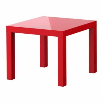 Lack Side Table (High-gloss Red) Price Philippines
