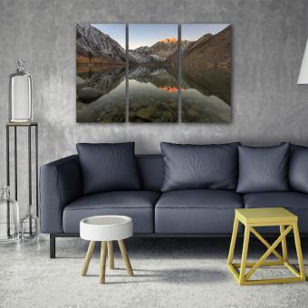 Lake Sunset 3-Piece Triptych Wall Art