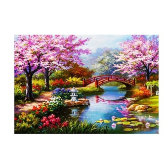 Landscape Park 5D Diamond DIY Painting Home Decor Craft - intl