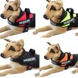 Large Dog Harness Vest Comfortable Nylon Net Cloth 2016 New PetProducts 4 Colors Professional Dog Chest Straps(L,Black) - 2