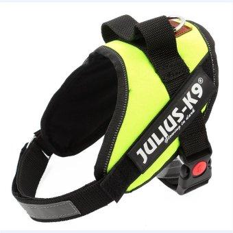 Large Dog Harness Vest Comfortable Nylon Net Cloth 2016 New PetProducts 4 Colors Professional Dog Chest Straps(L,Black) - 4