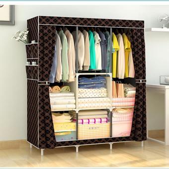 Large Size Quality Fashion Simple Multifunction Cloth Wardrobe Storage Cabinets C-77130 - 5