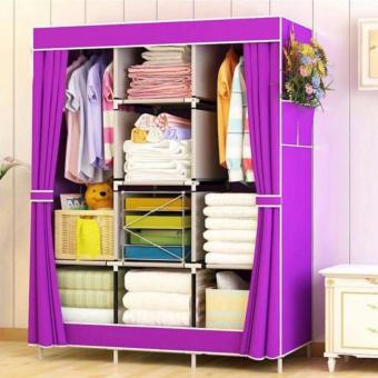 Large Size Quality Fashion Simple Multifunction Cloth Wardrobe Storage Cabinets C-77130 - 3