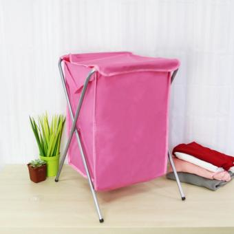 Laundry Hamper (Pink) - 2