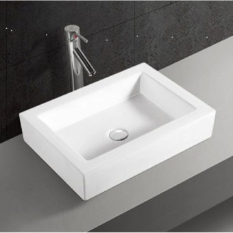 Lavatory Basin (Ceramic,White)