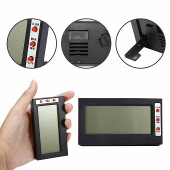 LCD Digital Temperature Humidity Meter Thermometer Mini DigitalFahrenheit Meter - intl Price Philippines