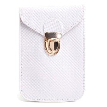 Le Organize 114 Horizontal Sling Bag BUNDLED with 100 Vertical Sling Bag (White)