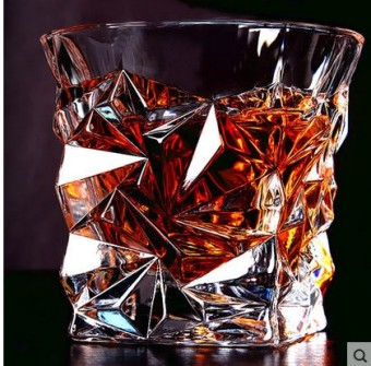 Lead-free crystal glass brandy cup whiskey cup