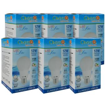 LED Bulb LLA65E27-12W-DL Set of 6 - 2