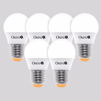 LED Bulb LLG45E27-3W-WW Set of 6