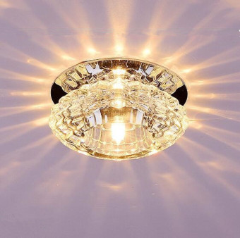 LED Ceiling Light Surface Mounted 3W 10CM (Warm Light) DGD-057Creative Lamps Aisle Fixtures Entrance Corridor Lights
