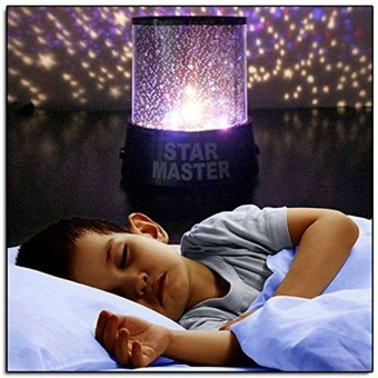 LED Colorful Sky Star Projector Lamp Night Light (Blue) - intl Price Philippines
