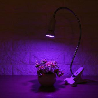 LED Hydroponic Plant Grow Light With Clip (3W 36LED) - intl - 4