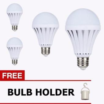 LED INTELLIGENT EMERGENCY BULB 5W ( 4 SETS ) Price Philippines